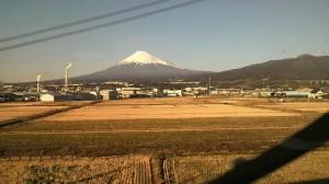 新幹線から富士