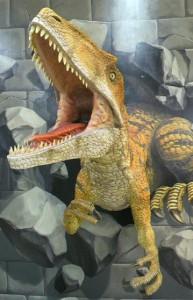 小松の恐竜
