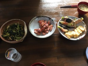 松本さんの朝ご飯