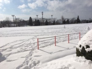 雪グランド