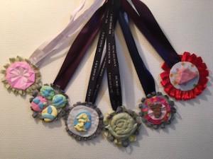 数々のメダル