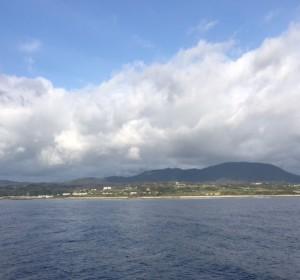 島がみえた