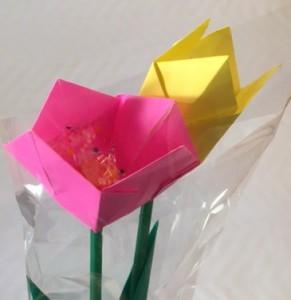 高知紙の花