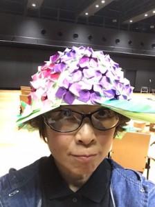 紫陽花帽子