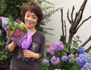 美しい紫陽花