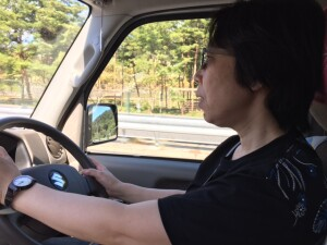 チエミーの運転