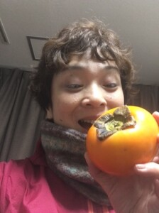 柿もらった〜